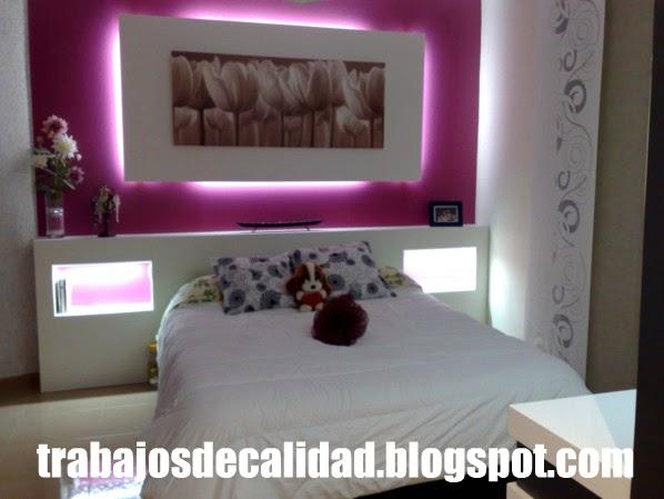 Dise os y decoraciones singulares pladur nuevas ideas for Decoracion de pladur