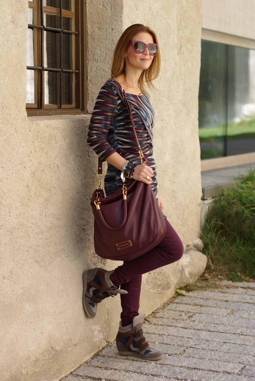 Wedge sneakers fashion blog 12