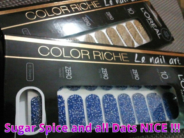 L'Oreal Paris FashioNAILable Color Riche Le Nail Art Stickers