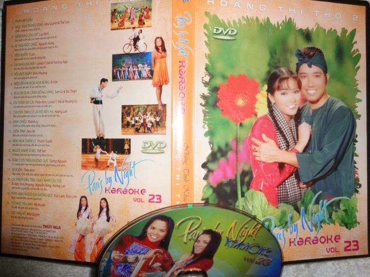 PBN Karaoke 23: Hoàng Thi Thơ 2 (DVD9)