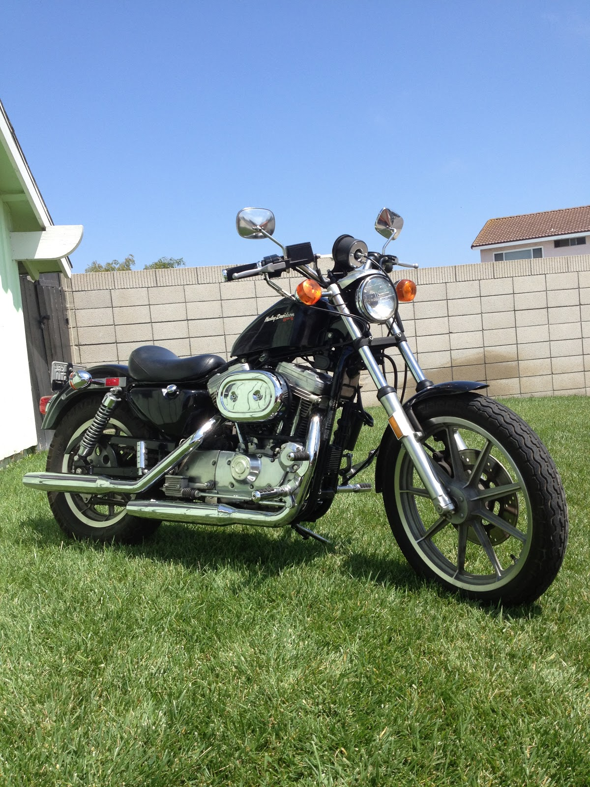 Cycle Zombies Blog For Sale 1986 Harley 883 Sportster