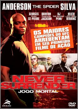 capa Baixar Filme Never Surrender   Jogo Mortal   Dublado