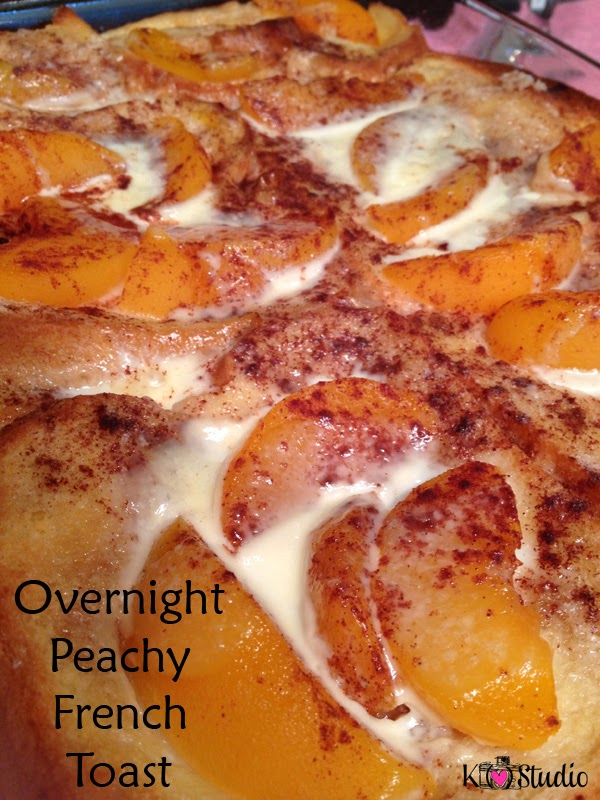 heart) Studio: Foodie Friday - Overnight Peachy French Toast