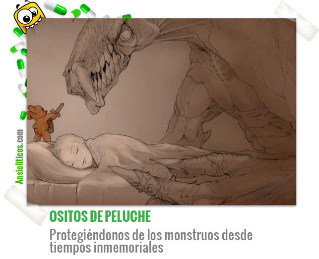 Chiste de Osos de Peluche: Protegen de los Monstruos