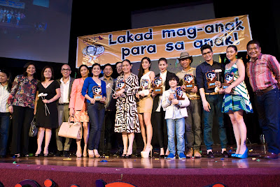 ABS-CBN Stars and Programs Dominate Anak TV Awards 2012