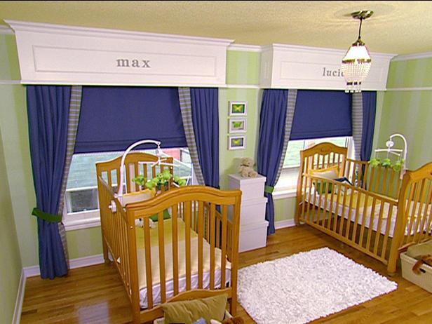 Interior Design Sophisticated Gender Neutral Nursery For Twins