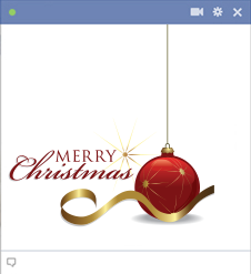 Merry Christmas Facebook Emoticon