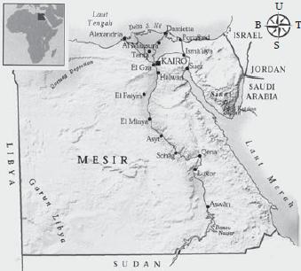 Negara Berkembang Mesir: Letak Geografis, Letak Astronomis, ,Keadaan Alam Dan Batas Wilayah Serta Jumlah Penduduk Negara Mesir