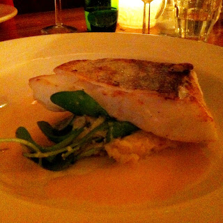 Cod with celeriac mash