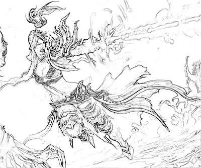 Diablo 3 Wizard Horror Yumiko Fujiwara