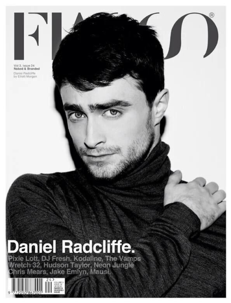 Daniel Radcliffe by Elliott Morgan for Fiasco Magazine