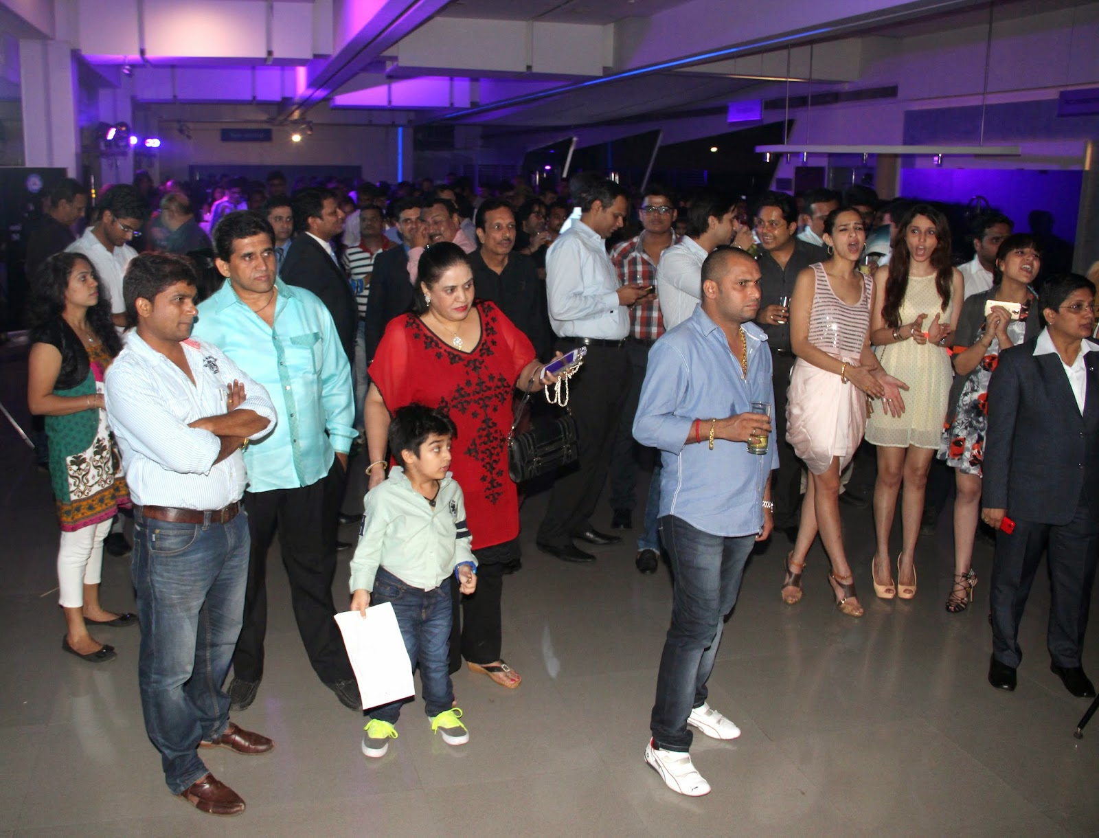 Guests at the Mercedes-Benz GLA-Class Preview at Shaman Wheels,Kalina 1