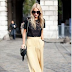 The Wide-Legged Pant Makes a Comeback in the Office