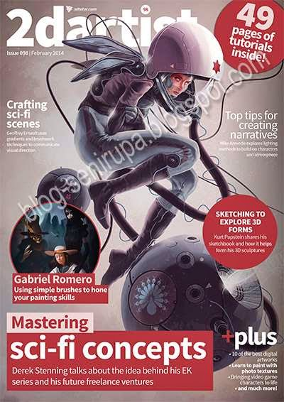 2D Artist Magazine Issue 098 February 2014