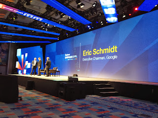 Google Executive Chairman, Eric Schmidt at Gartner Symposium 2013