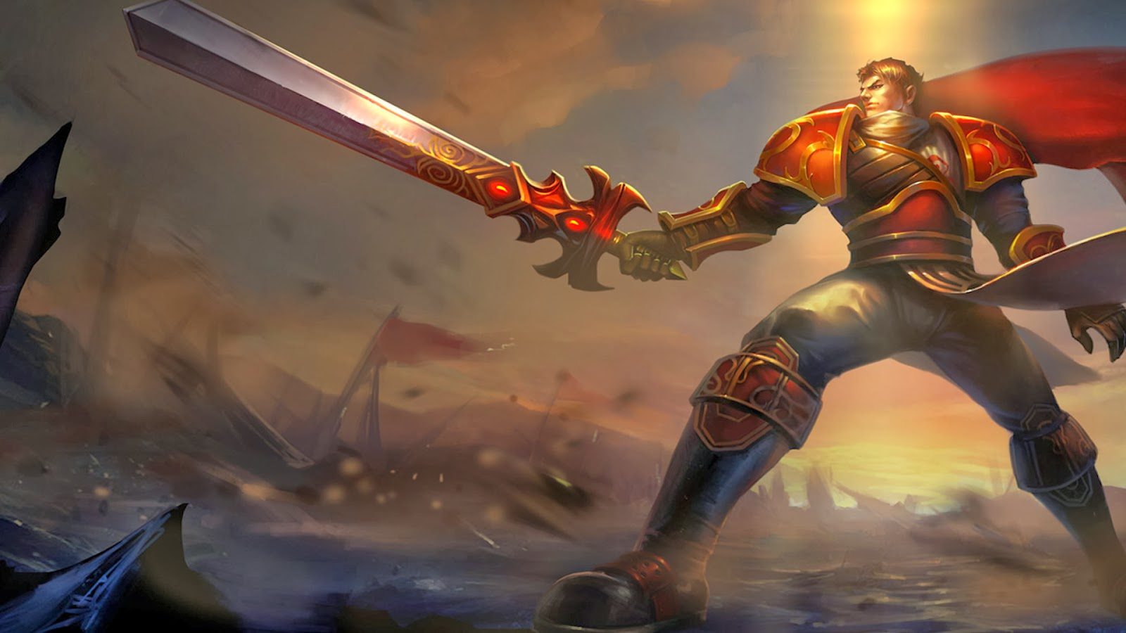 Garen League of Legends Wallpaper full HD Desktop 4 - Garen Champion Spotlight