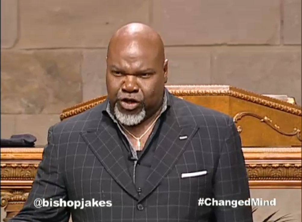 Celebrity Preacher, Bishop T. D. Jakes, Internal and External ...
