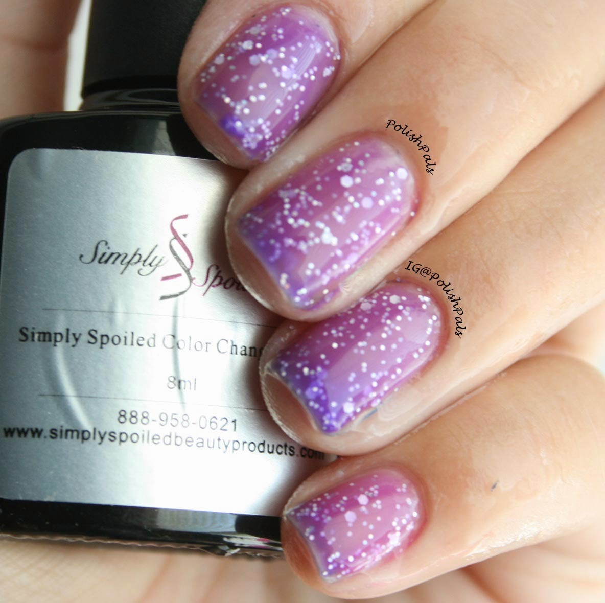 polish pals: color changing gel polishsimply spoiled review