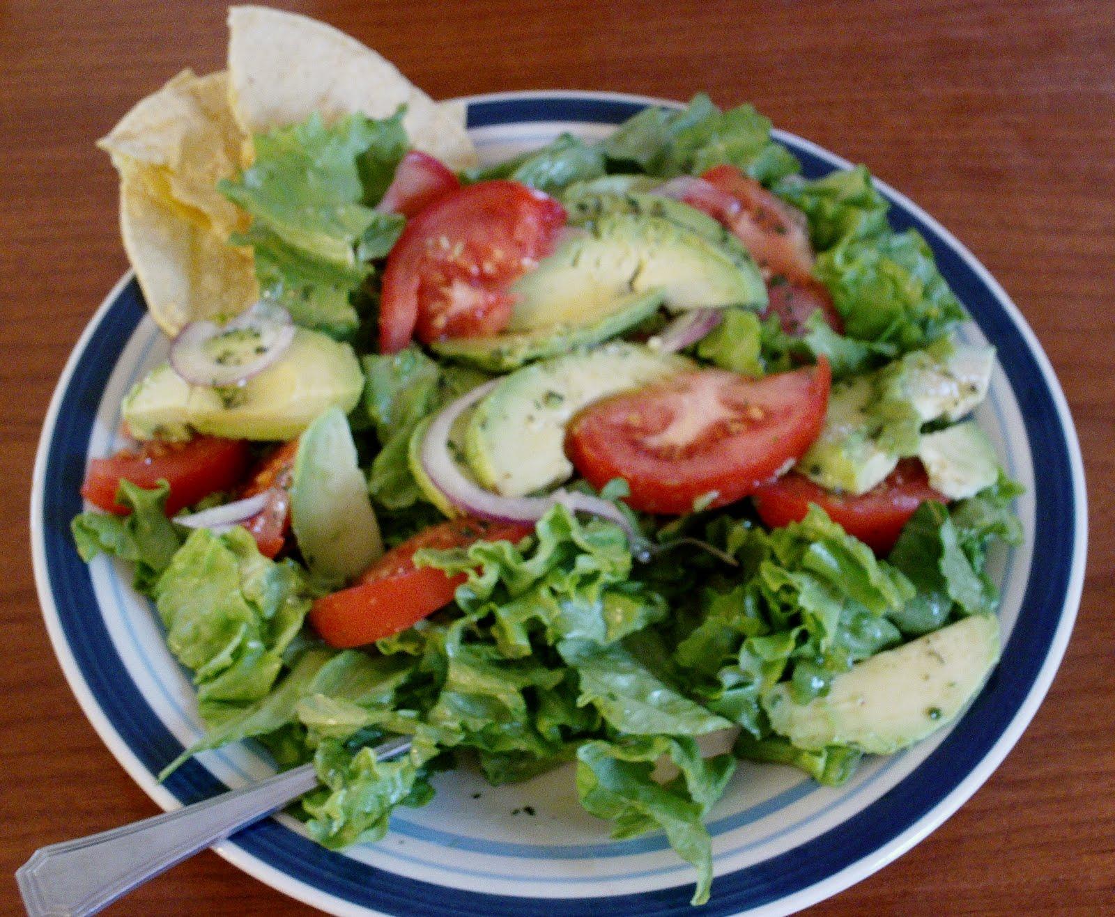 My Vegan Voyage and Vegan Recipes: My Favorite Avocado Salad
