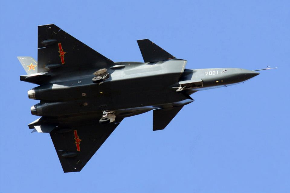 Chinese J-20 Stealth Fighter - Amazing Photo World
