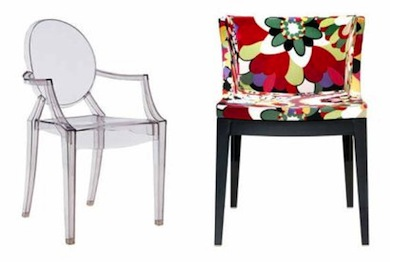 Philippe starck y kartell objetos y formas - Silla philippe starck ...