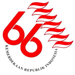 Logo Dirgahayu Republik Indonesia Ke-66