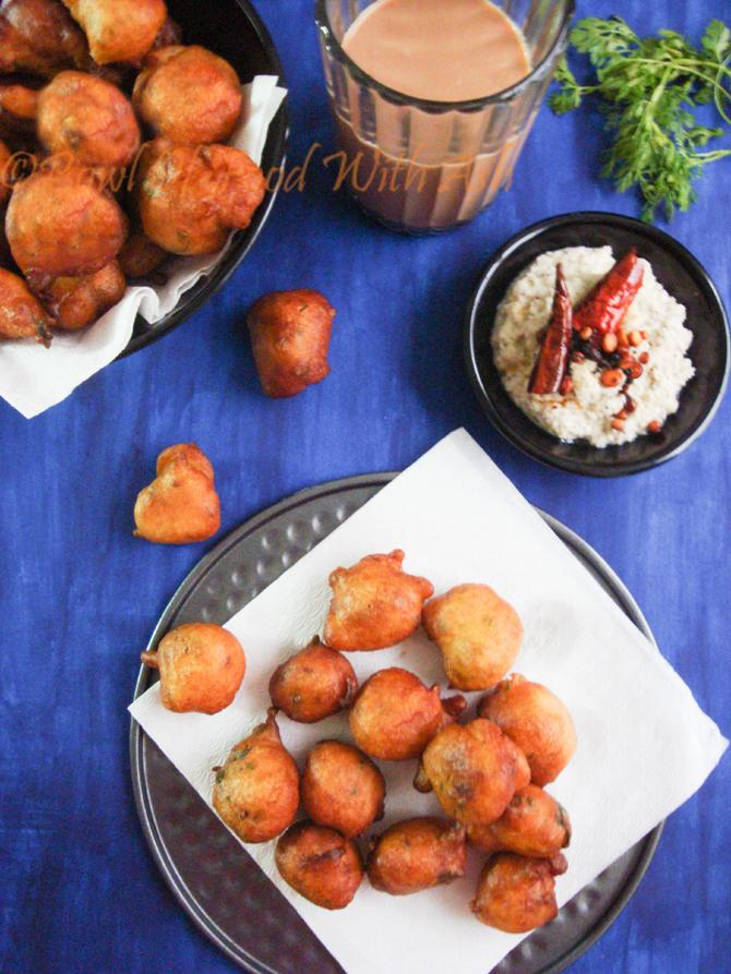 Mangalore bajji Recipe   How To Make Goli Baje