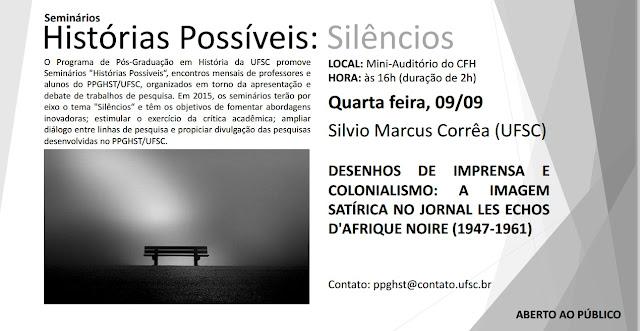 Histórias Possíveis: Silêncios - Silvio Marcus Corrêa