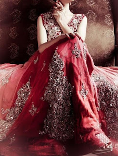 Indian lehenga bridal Wear Marsala