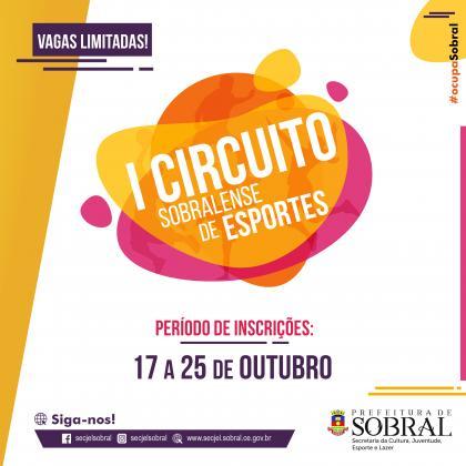 I CIRCUITO SOBRALENSE DE ESPORTES