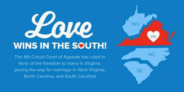 Fourth Circuit Overturns Virginia's Same Sex Marriage Ban