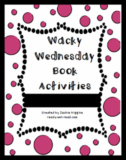 Dr. Seuss, Wacky Wednesday, Dr. Seuss day, ready set read, images