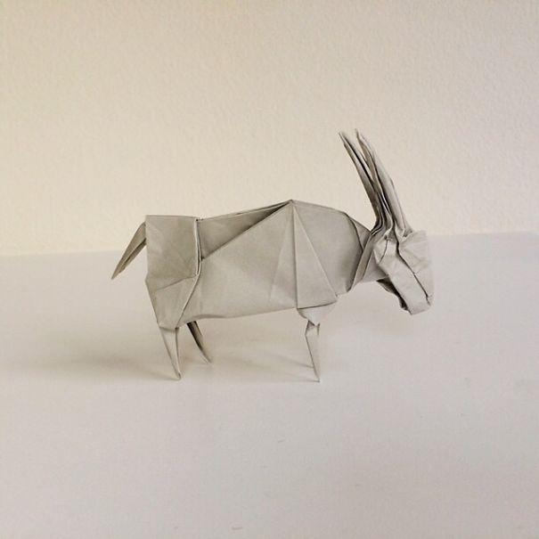 Origamis de Ross Symons