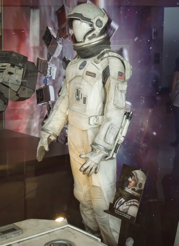 Anne Hathaway Interstellar NASA spacesuit
