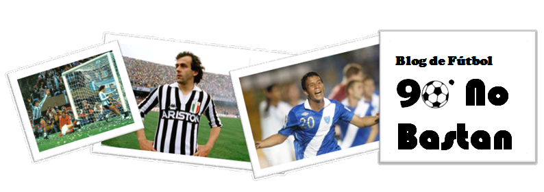 Blog de fútbol | 90' No Bastan