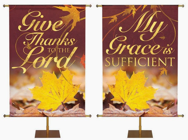 Thanksgiving Banners from PraiseBanners