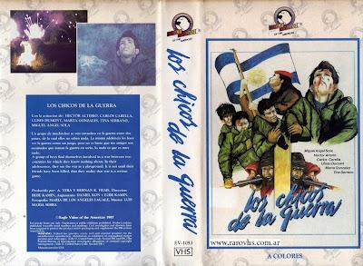 Los chicos de la guerra 1984 vhs