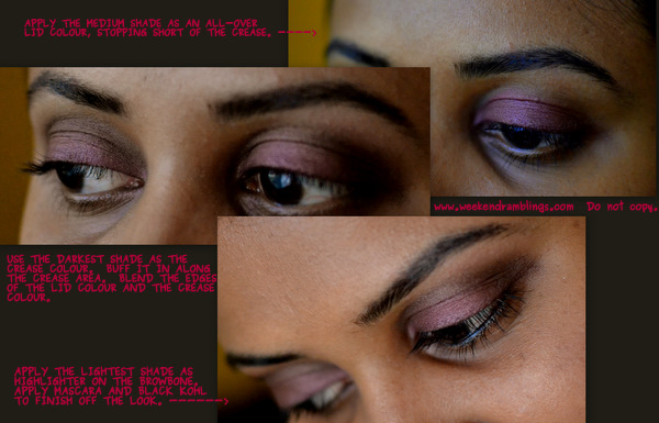how to apply eyeshadows in 3 easy steps makeup tutorial wet n wild knock on wood trio palette eotd fotd looks