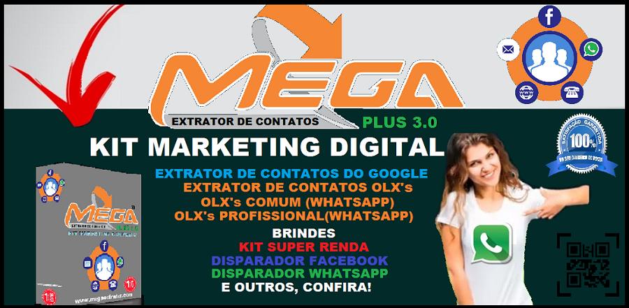 Mega - Kit Extrator de Contatos