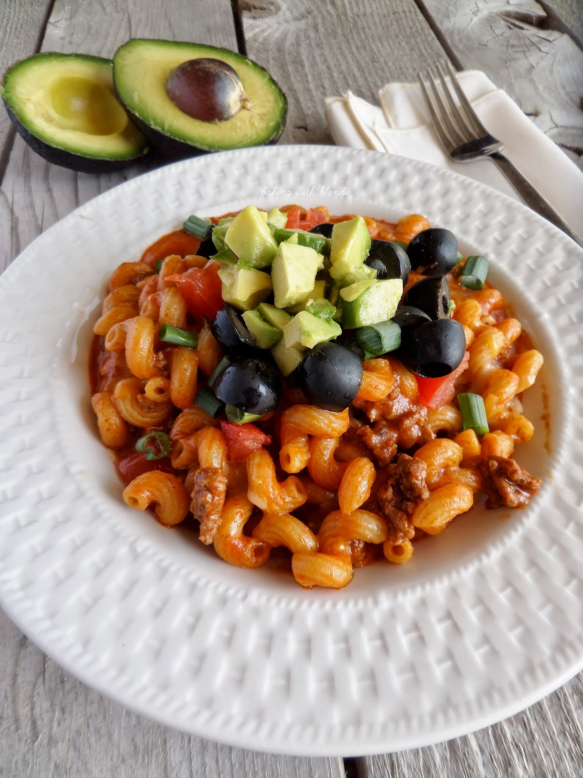 Easy Enchilada Pasta