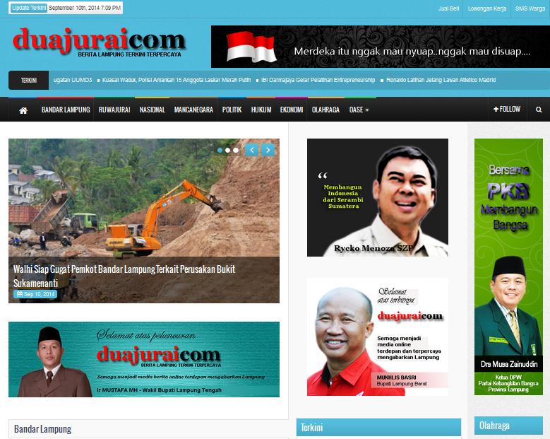 DuaJurai.com - Media Berita Online Berbasis di Lampung