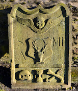 Tour Scotland photograph shot this morning of a Skull and Crossbones .