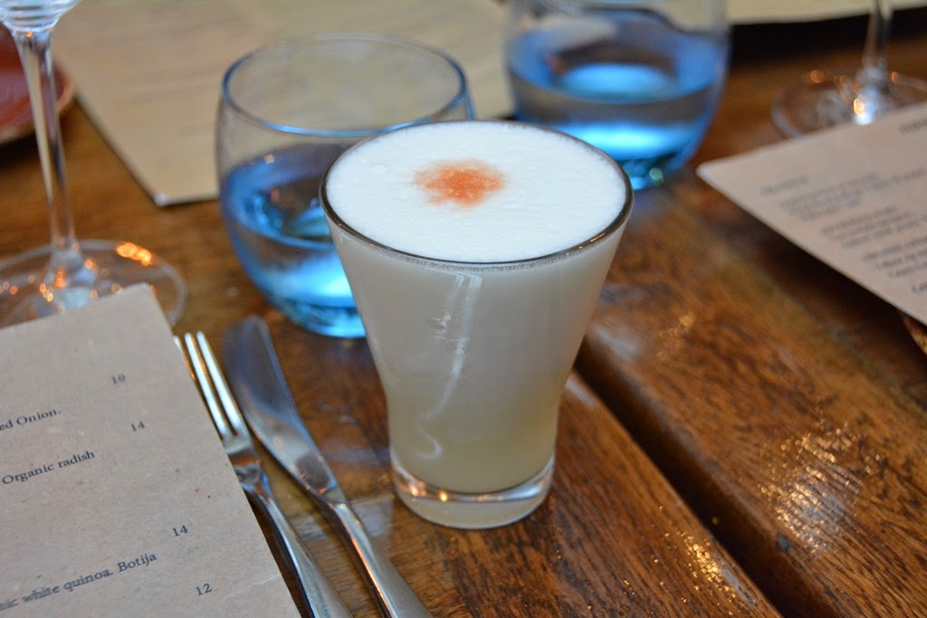 Restaurant Lima, London Pisco Sour