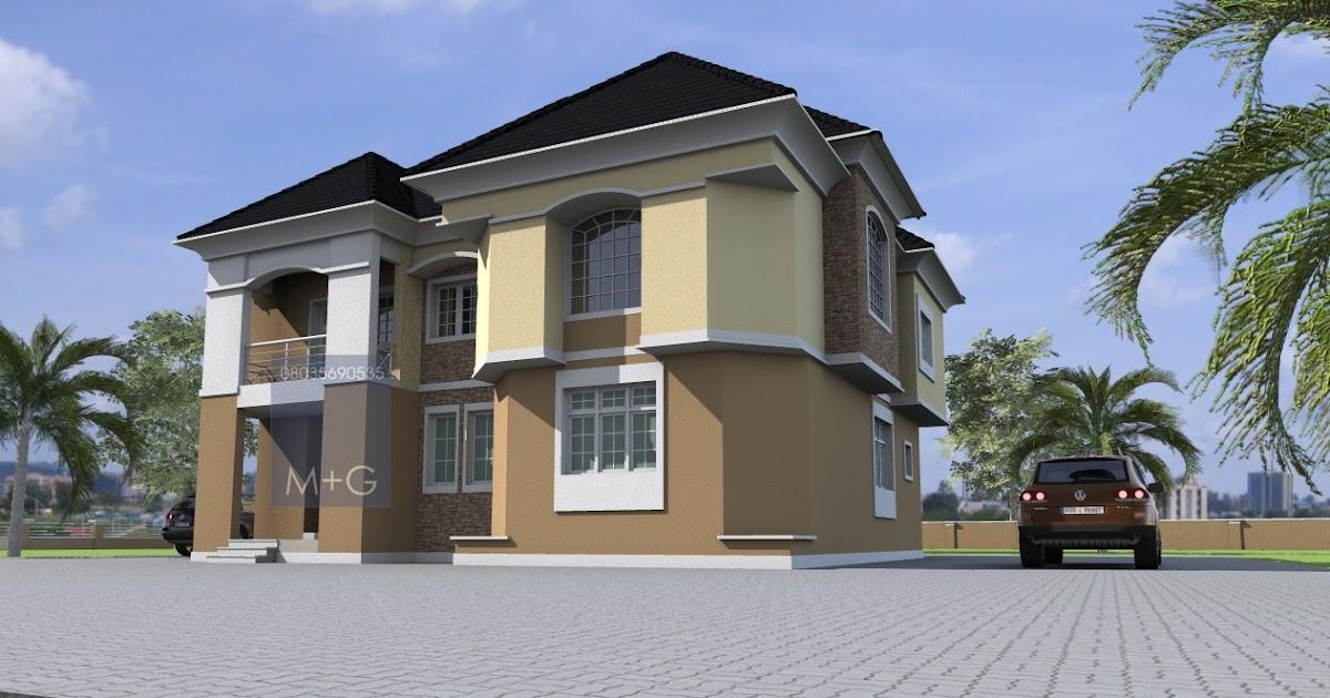 Contemporary nigerian residential architecture luxury 5 for Nigerian architectural designs duplex