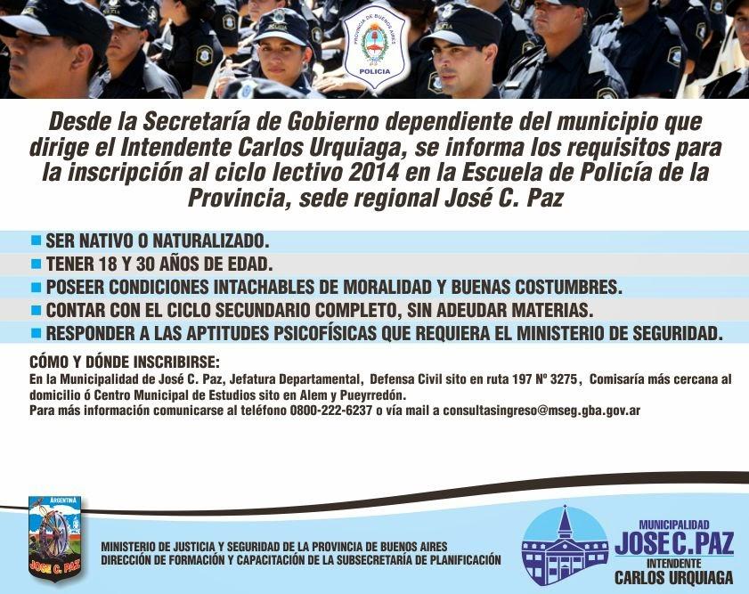 Prensa Municipalidad Jos C Paz Escuelas De Formaci N