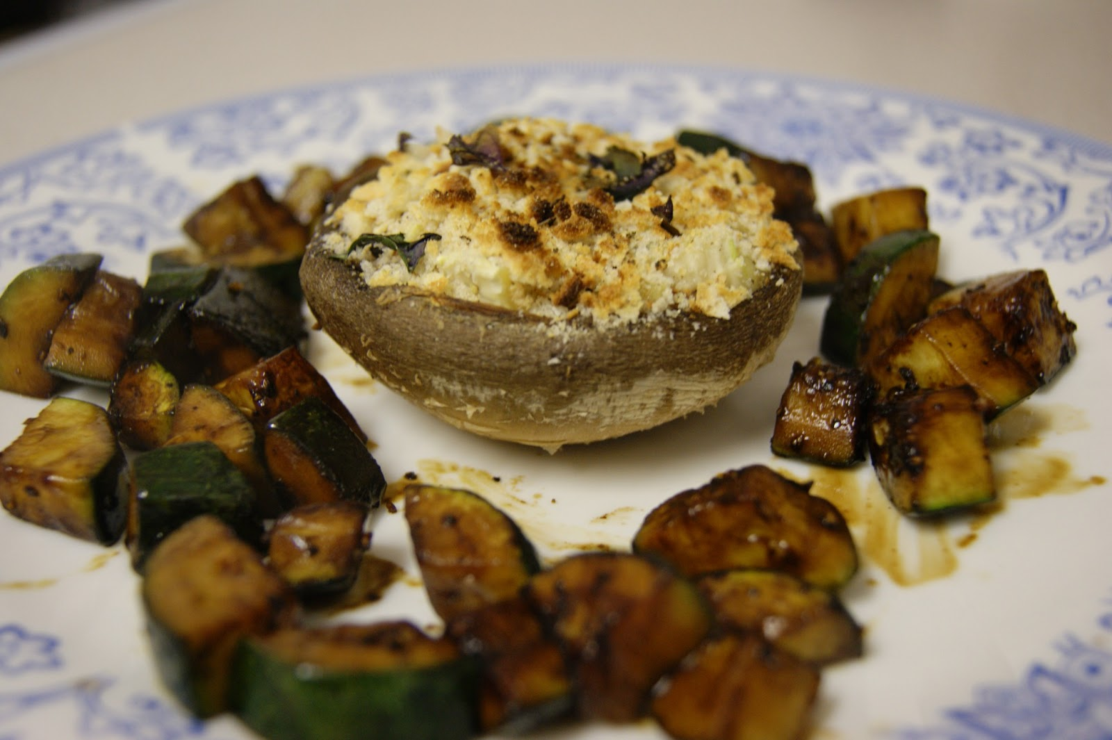 Mushrooms Stuffed With Brie Recipe — Dishmaps