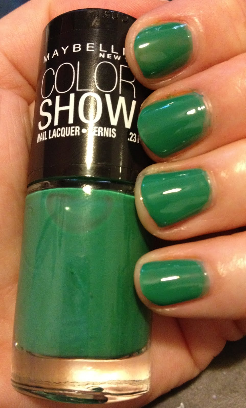 The Beauty of Life: Maybelline Color Show Nail Lacquer Swatches: My ...
