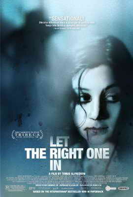 Let The Right One In 2008 poster