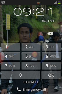 PIN screen lock