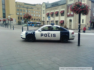 The police in Helsinki